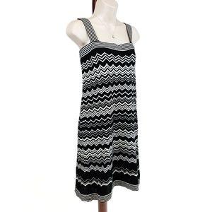 NWT Missoni for Target knit dress black white